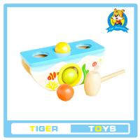China wooden toys,educational toys for kids-Wooden Pegs Game-Knock hamaster/mouse on sale