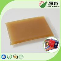 Buy cheap High Viscosity Amber Animal Jelly Glue For Automatic Case Maker product