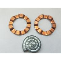 Quality Copper Sheet Brass Stamping Parts Progressive Die Products With Wave Shape for sale