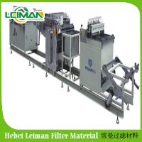 Buy cheap PLGT-420 Full-auto Rotary ECO Filter Paper Pleating Production Line from wholesalers