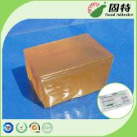 Buy cheap Industrial Pressure Sensitive Hot melt  Adhesive Glue For Packaging Express Bill Sealing PSA Yellow and semi-transprant product
