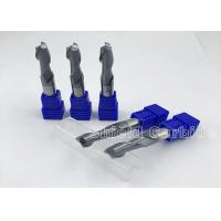 Buy cheap High Class 2 Flute Carbide End Mill , Milling Cutters End Mill Bits For Aluminum product