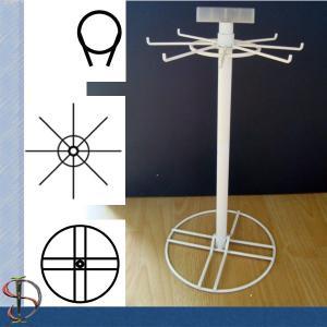 China One rotor Display Rack on table / Metal Hooks Display Stand / Rotating Countertop Rack / Spinner on sale