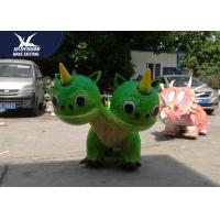 China Lovely Electric Dinosaur Ride On High Artificial Colorful Remote Control For Decoration on sale