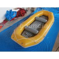 Buy cheap Yellow 2.0mm Thick Inflatable River Rafting Boat For Rental Business product