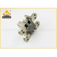 Buy cheap Invisible Zinc Alloy Internal Door Hinges Soss Concealed , Full Inset Hinges product