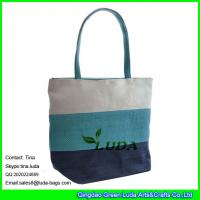China LUDA paper straw beach bag fashion straw shopping bag wholesale on sale