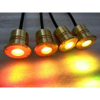 Buy cheap Super Bright 3w Mini LED Underwater Pond Lights With Brass Housing product