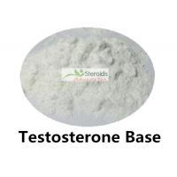 China Testosterone Base Bulk Steroid Powders Positive Anabolic Steroids Without Side Effects 58-20-8 on sale