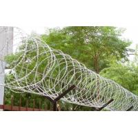 Buy cheap 450mm - 1050mm Fence Security Wire Razor Barbed Tape Anti Aging Ultra Durable product