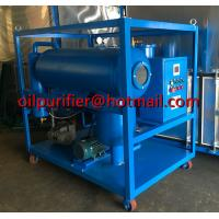 Buy cheap Horizontal Vacuum Dielectric Oil Purifier, SIngle Stage Vacuum Transformer Oil Purifier, Oil Purification plant supplier product