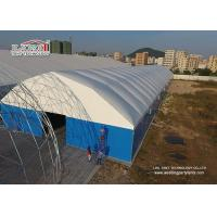 Buy cheap Metal Frame Structure Industrial Storage Tents with Thermo PVC Roof Cover from Wholesalers