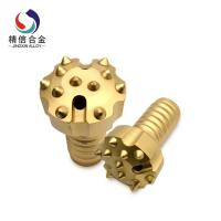 Buy cheap Gold DTH Rock Drilling Tools With Convex Face And Tungsten Carbide Buttons from wholesalers