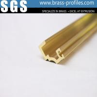 Buy cheap Brass Extrusion Profiles and Decorative Copper Brass Profiles product