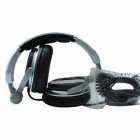 Buy cheap New Foldable Comfortable DJ Headphones with Clear Bass, 20Hz to 20kHz FR, 3.5mm from wholesalers