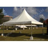 Buy cheap No Wall High Peak Tents , Pagoda High Peak Party Tent Polyester Fabric Cover from Wholesalers