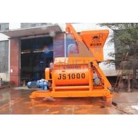 Buy cheap Big Industrial Vertical Cement Mixer, Portable Self Loading JS1000 Electrical Concrete Mixer product