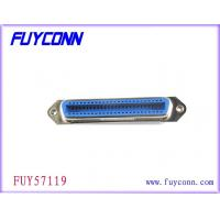 Buy cheap Straight Angle PCB 24 Pin Centronics Connector , Female PCB Connector product