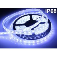 Buy cheap 12V White RGB LED Strip Lights Cuttable Waterproof Swimming Pool Strip product