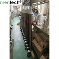 Buy cheap 3.5m portable pneumatic telescopic mast for light tower, fire truck lighting , inside electric wires telescopic mast product