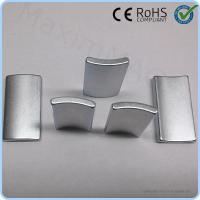 Buy cheap Small wind turbine generator neodymium arc shaped neodymium magnets for sale product