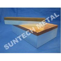 Buy cheap C1100 / A1060 Thick Aluminum and Copper Cladded Plates for Transitional Joint from Wholesalers