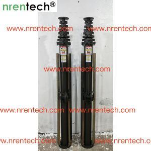Buy cheap 10m aluminum telescoping mast/manual crank winch telescopic mast/ push telescoping mast product