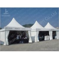China Custom Exhibition High Peak Frame Tent Pagoda Replacement Canopy Pavilion on sale
