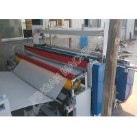 Buy cheap Semi automatic tissue paper rolls rewinding machine efficient with embassing Function product