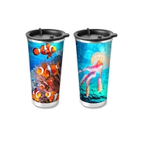 Buy cheap Food Grade 3D Lenticular Printing Service Plastic Kids Drinking Cup from wholesalers