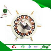 China bldc 12 volt motor rotor ceiling fan motor specification with magnet tile ring on sale