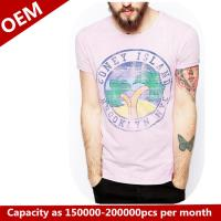 Buy cheap Custom 100% cotton T shirt with printing product