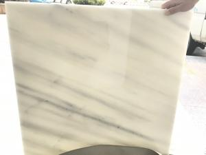 Buy cheap Grey Veins Marble Backlit Pure White Jade Onyx Stone product