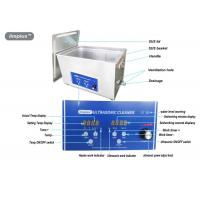 Buy cheap Heated Digital Ultrasonic Jewelry Cleaner 15L For Jewelry Cleaning product