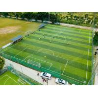 Buy cheap Resilient PE Artificial Football Turf FIFA Qualification For Standard Football Field product