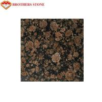 Buy cheap Brown Color Flamed Granite Stone Slab Good Compressive Strength product