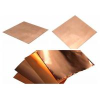 Quality Shield Copper Foil Sheet  0.15mm - 8mm Thickness for sale