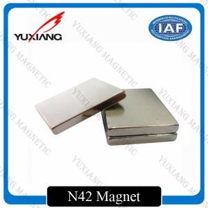 Buy cheap Sintered Neodymium Block Magnets Tighter Tolerances For MRI / Wind Generator product