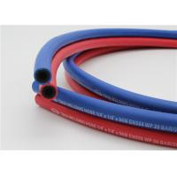 1 / 4 Inch Twin Welding Hose , 300 Psi Gas Welding Hose Red & Blue