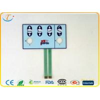 Dust - Proof Epoxy Keypad Membrane Switch 30V DC With Touch Panel , Pantone / RALcolor