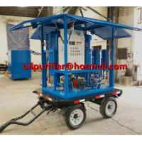 Buy cheap Enclosed Mobile Trailer Mounted vacuum Insulating Oil treatment transformer oil dewater movable trailer filter equipment product