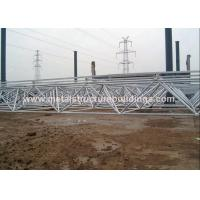 PPG Painted Pre Manufactured Buildings Steel Structural ASTM A36 A992 Easy Installation
