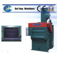 China Tumble Rubber Belt Steel Shot Blasting Machine Safe Operation For Casting Metal Parts on sale