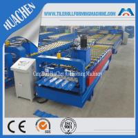 China Hydraulic Roofing Sheet Roll Forming Machine , Sheet Metal Roll Former Machinery on sale