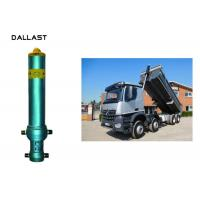 Buy cheap Piston Rod Single Acting Dump Truck Hydraulic Cylinder Steel Material Customized product