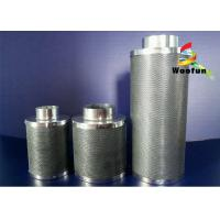 Custom Active Grow Tent Carbon Filter Safe Light Weight With Stainless Steel Mesh