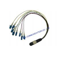 China Multi Core Duplex Optical Fiber Patch Cord , Passive / Active Optic Fiber Optic Cable on sale