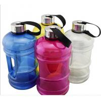 Buy cheap 2.2L BPA Free PETG Plastic Water bottle,plastic sport water jug bottle with handle product