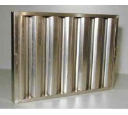 Stainless Steel Kitchen Range Hood Baffle Grease Filter