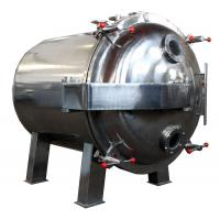 Buy cheap Round Shape Static Vacuum Dryer Oven , Industrial Tray Dryer For Foodstuff product